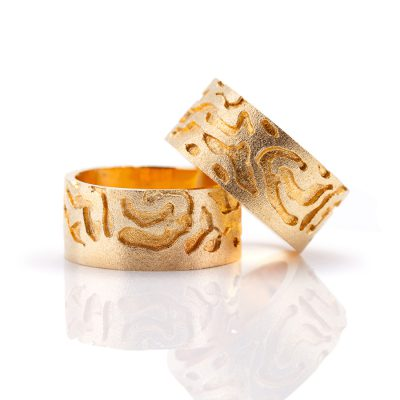 Ornament-Ringe Gold - Ornato Frankfurt